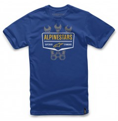 T-Shirt Alpinestars SHIFT Bleu