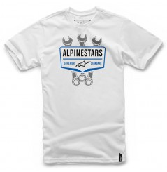 T-Shirt Alpinestars SHIFT Blanc