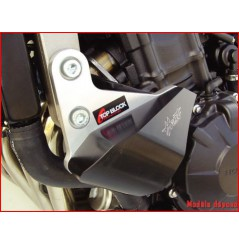 Kit Patins Top Block pour Hornet 600 (07-10) CBF600 (08-12)