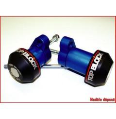 Kit Roulettes Top Block pour Honda Hornet 900 (03-07)