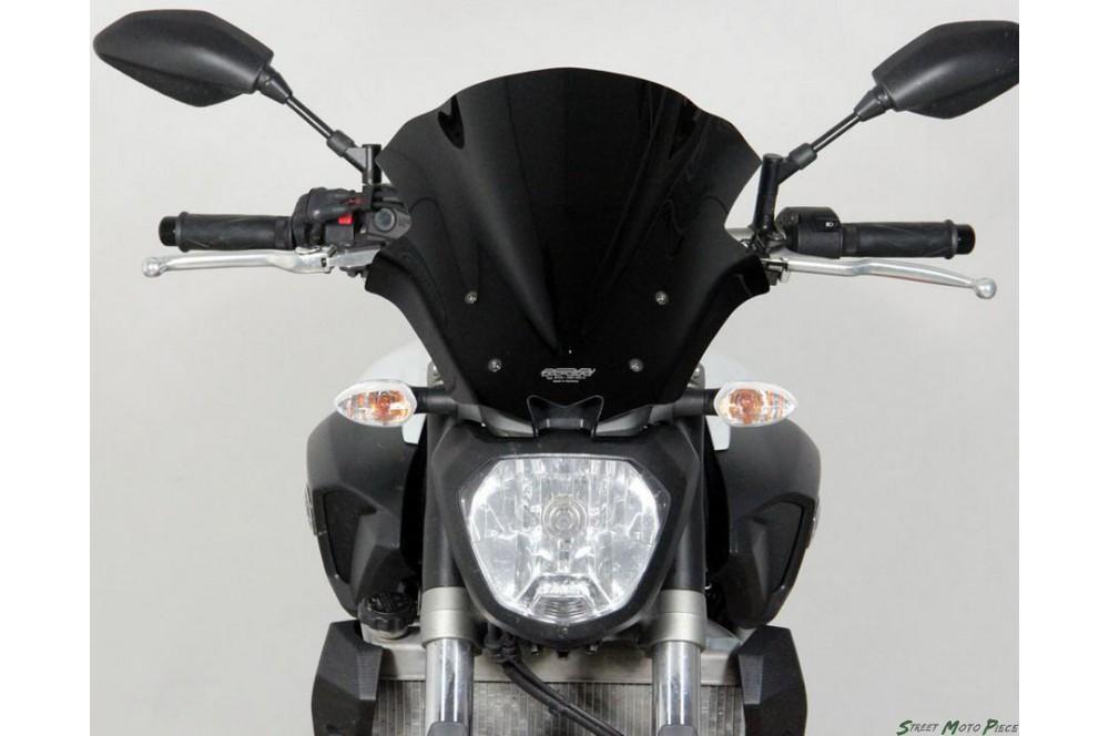 Bulle Tourisme / Saute-vent Moto MRA pour Yamaha MT07 de (14-15)