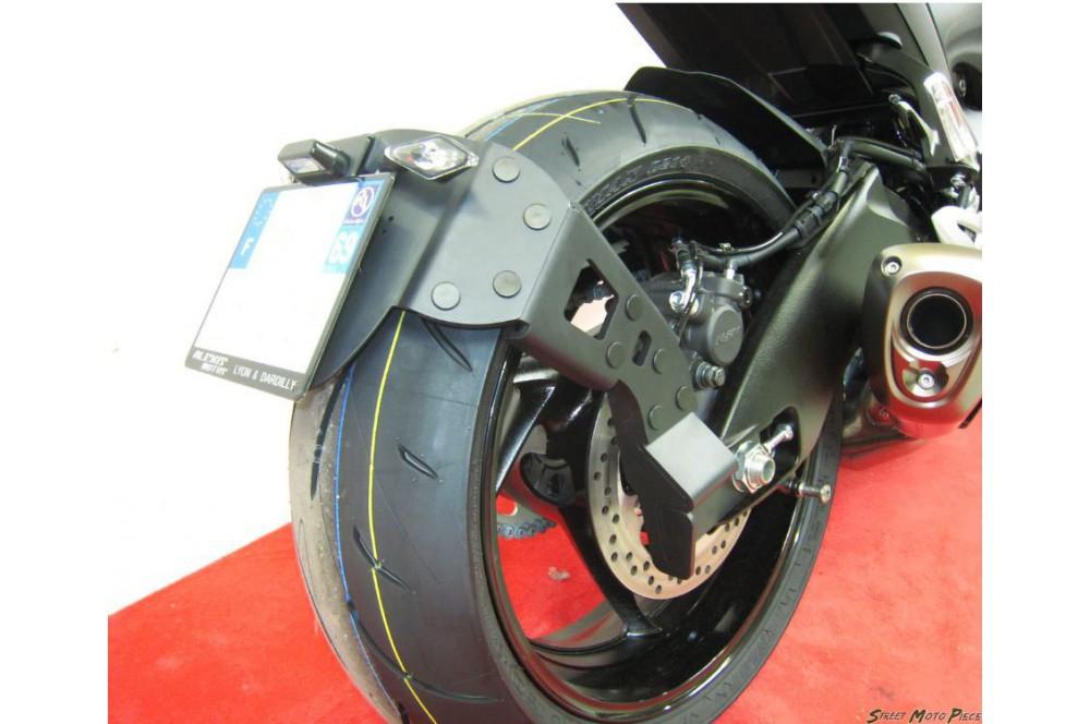 Support de Plaque Moto Déporté Access Design pour GSX-S1000 et F (15-16)