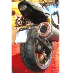 Support de Plaque Moto Déporté Access Design pour Yamaha XJR1300 (99-16)