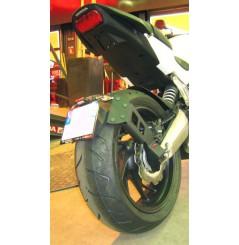 Support de Plaque Moto Déporté Access Design pour Honda CB650F (14-16) CBR650F (14-16)