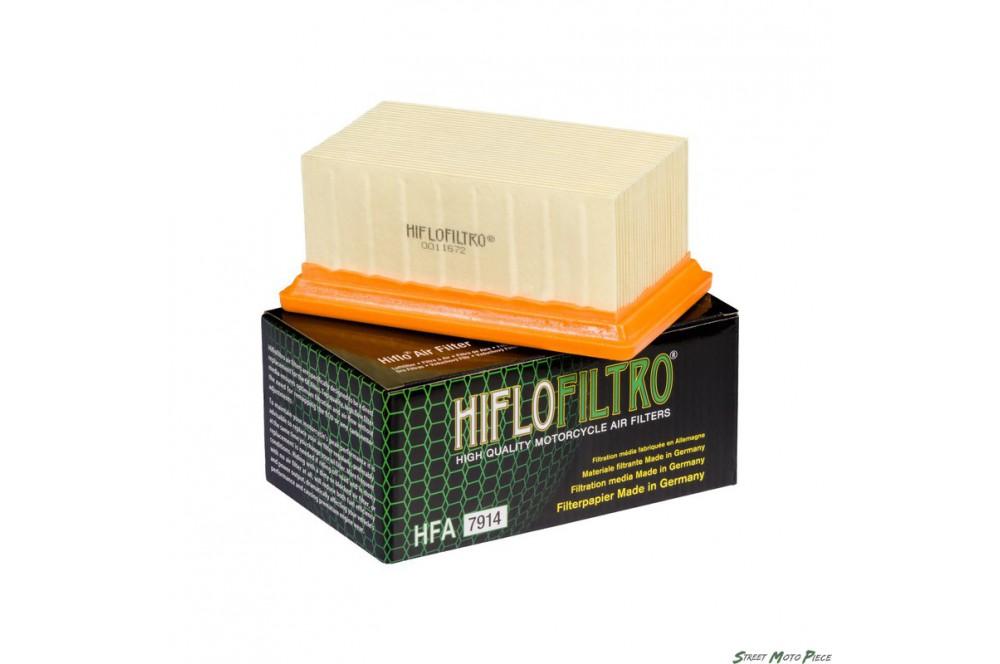 Filtre à air HFA7914 pour BMW R1200RT (10-14) R1200R (11-14) R1200GS (10-13) R-Nine T (14-16