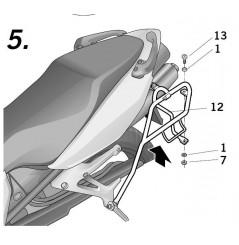 Support Valises Latérales Shad pour VFR 800 VTEC (02-13)
