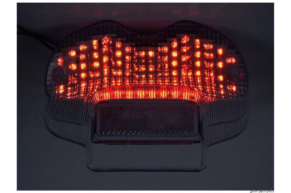 Feux Arrière à LED + clignotants pour Bandit 600 (00-04) Bandit 1200 (01-05)