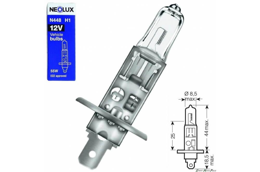 Ampoule H1 12V-55W NEOLUX pour Moto-Quad-Scooter