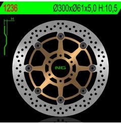 Disque de Frein Moto NG Brake Avant pour Aprilia RS250 (95-05)
