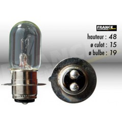 Ampoule Phare 6V-25/25W RING pour Moto-Quad-Scooter