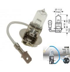 Ampoule H3 12V-55W RING pour Moto-Quad-Scooter