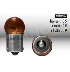 Ampoule Graisseur Clignotant Orange 12V-10W RING pour Moto-Quad-Scooter