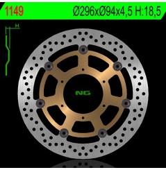 Disque de frein avant Moto NG Brake pour CBF600 (08-13) CBF1000 (06-13)