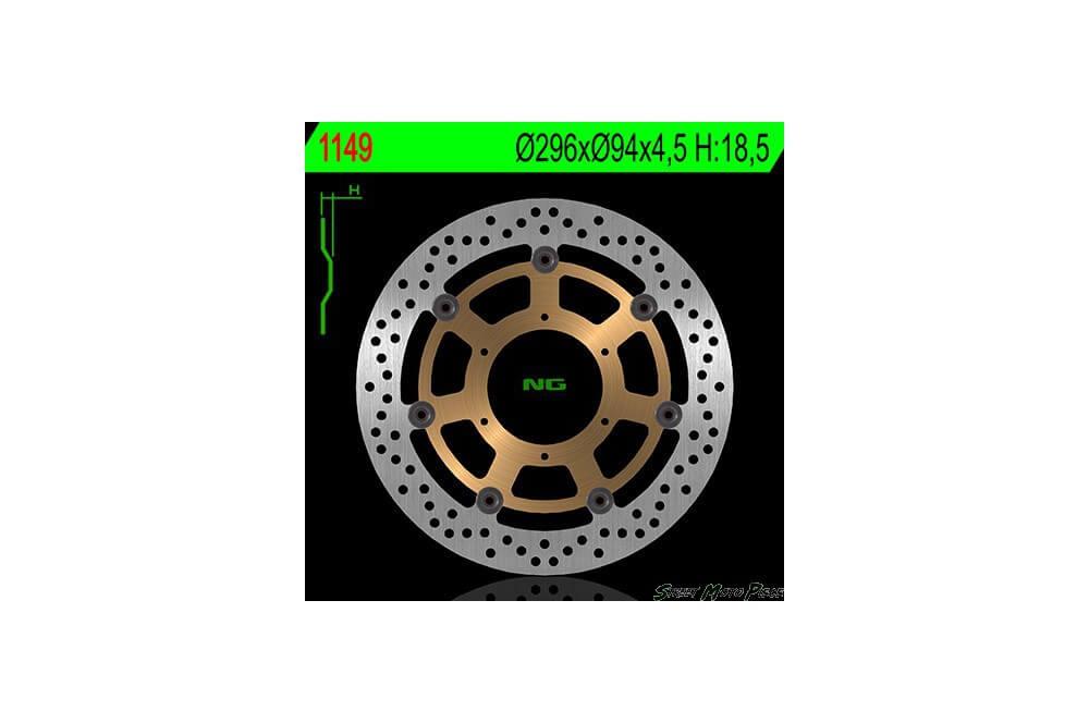 Disque de frein avant Honda CBF 600 08/11, CBF 1000 06/11