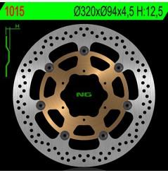 Disque de frein avant Honda CBR1000RR (06-07)