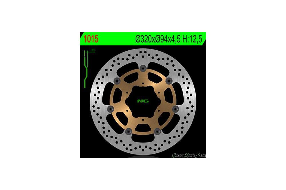 Disque de frein avant Honda CBR 1000 RR 06/07