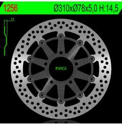 Disque de Frein Avant NG Brake pour 600 Daytona (03-07) 600 Speed Four (03-06) 600 TT (00-03)