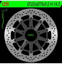 Disque de frein NG Brake avant Triumph T955 Daytona 955 (02-06), 955 Speed Triple (02-04), 1050 Sprint ST (05-11)