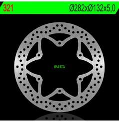 Disque de frein NG Brake avant pour Virago 1100 (94-00) 750 Virago (94-00) FJ1200 (86-87) XV1300 (88-95)