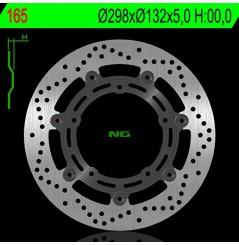 Disque de frein avant NG Brake pour FZ6 (04-11) XJ6 (09-16) R6 (03-04) MT03 (06-11) MT07 (14-16) MT09 (13-16)