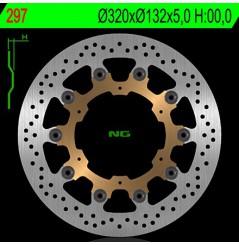 Disque de frein NG Brake avant Yamaha YZF-R7 (99-02) FJR 1300 (04-12), MT01 (05-11)