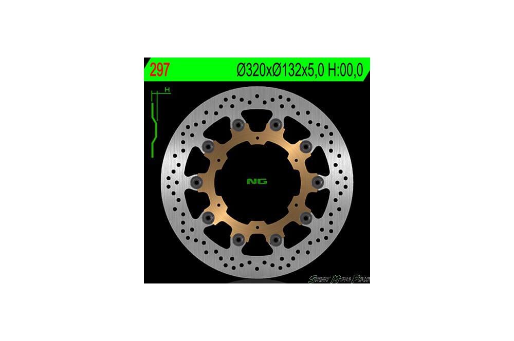 Disque de frein avant Yamaha FJR 1300 04/12, FJR 1300 Abs 03/06, MT01 05/11
