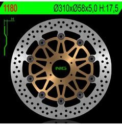 Disque de frein avant NG Brake pour Honda CB1000 Big One (93-98)