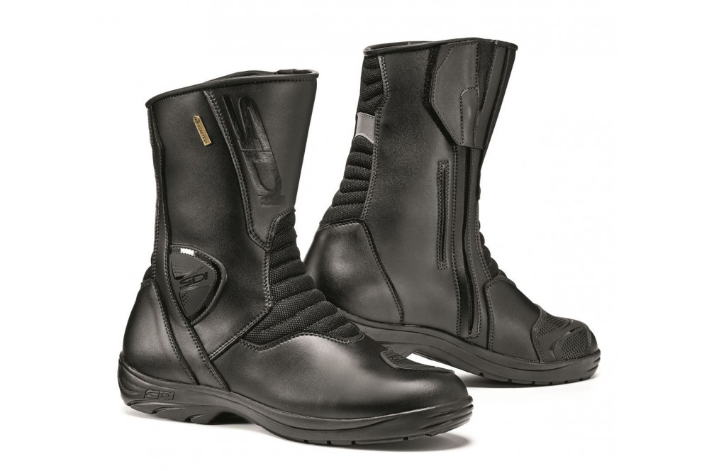 bottes moto touring sidi gavia gore tex noir street moto piece. Black Bedroom Furniture Sets. Home Design Ideas