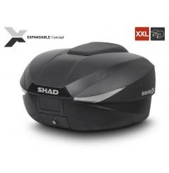 Top Case Moto Shad SH58X Expandable Carbone
