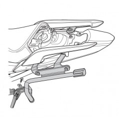 Support de Valise Shad 3P System pour Integra 750 (2016)