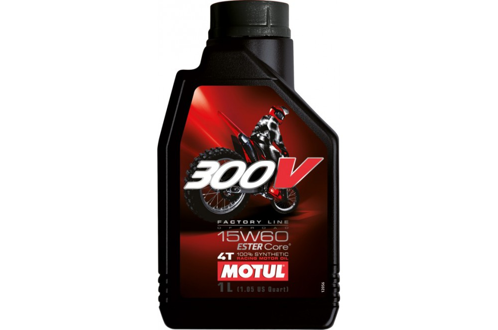 Huile moto Motul 300V Factory Line Off Road 15W60 1 Litre