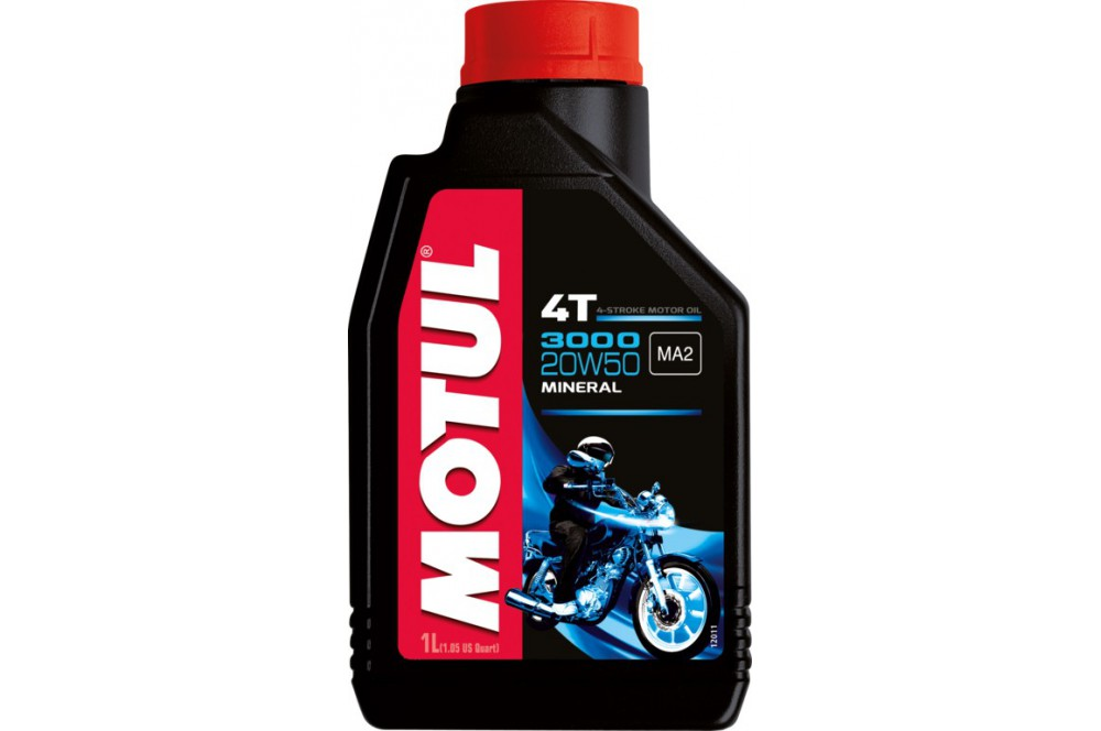 Huile Moto 3000 20w50 1 Litre