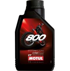 Huile Moto Motul 800 2T Factory Line Off Road 1 Litre