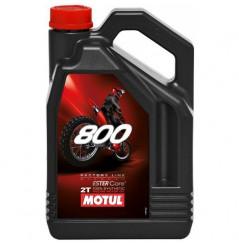 Huile Moto Motul 800 2T Factory Line Off Road 4 Litres