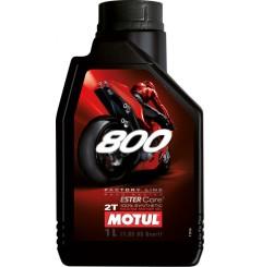 Huile Moto Motul 800 2T Factory Line Road Racing 1 Litre