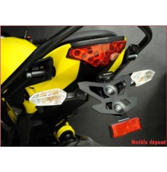 Support de plaque Top Block pour Kawasaki ER6N-F (12-15)