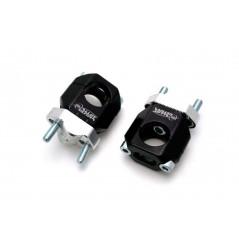 Pontet Réglable Noir pour Tés de Fourche Moulés 28.6 mm