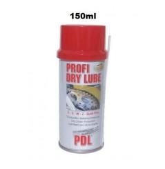 Lubrifiant Sec pour Chaines Moto PDL Profi Dry Lube 150ml