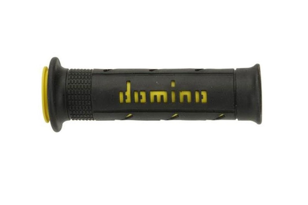 Poignée Domino XM2 Super Soft Noir Jaune