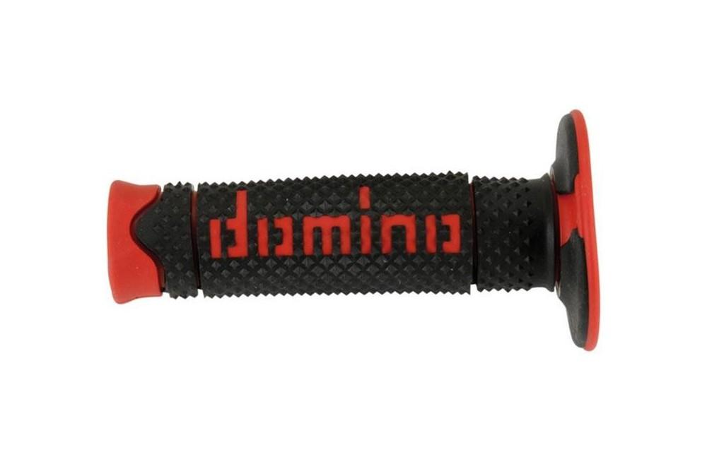 Poignée Domino Full Grip Noir Rouge