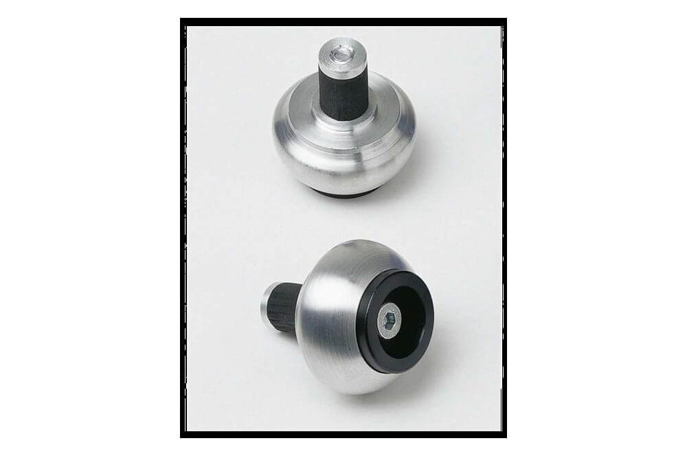 Embouts de Guidon LSL Crash Ball Inox Int. 14mm