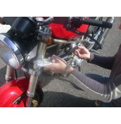 Amortisseur de direction pour Ducati 750 (91-98) 900 (90-97)