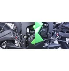 Commande reculées LSL 2Slide Kawasaki ZX6R ZX636 ZX6RR (07-08)