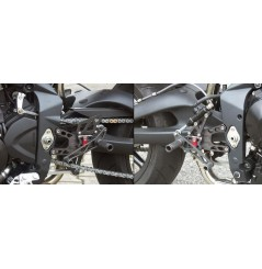 Commande reculées LSL 2Slide Triumph 675 Daytona Speed Triple (06-12)
