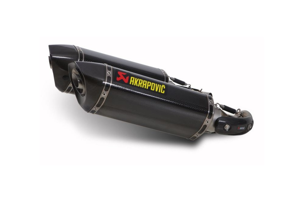Silencieux Carbone Akrapovic Homologué Ducati Monster 696 08/13