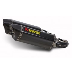 Silencieux Carbone Akrapovic Ducati Monster 1100-S (08-10)