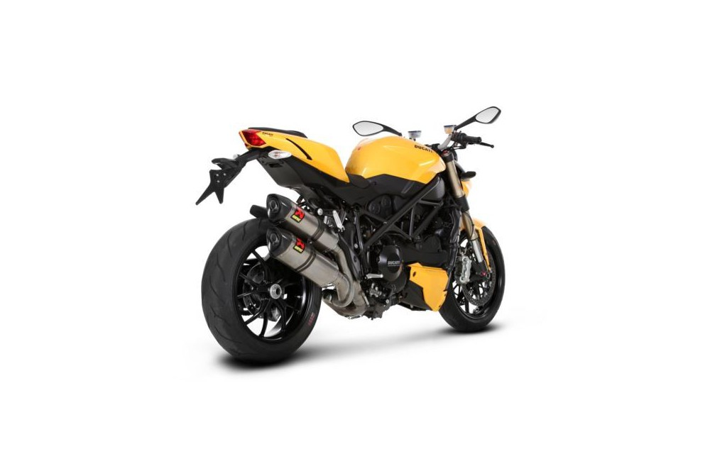 silencieux akrapovic carbone ducati streetfighter 848 11 13. Black Bedroom Furniture Sets. Home Design Ideas