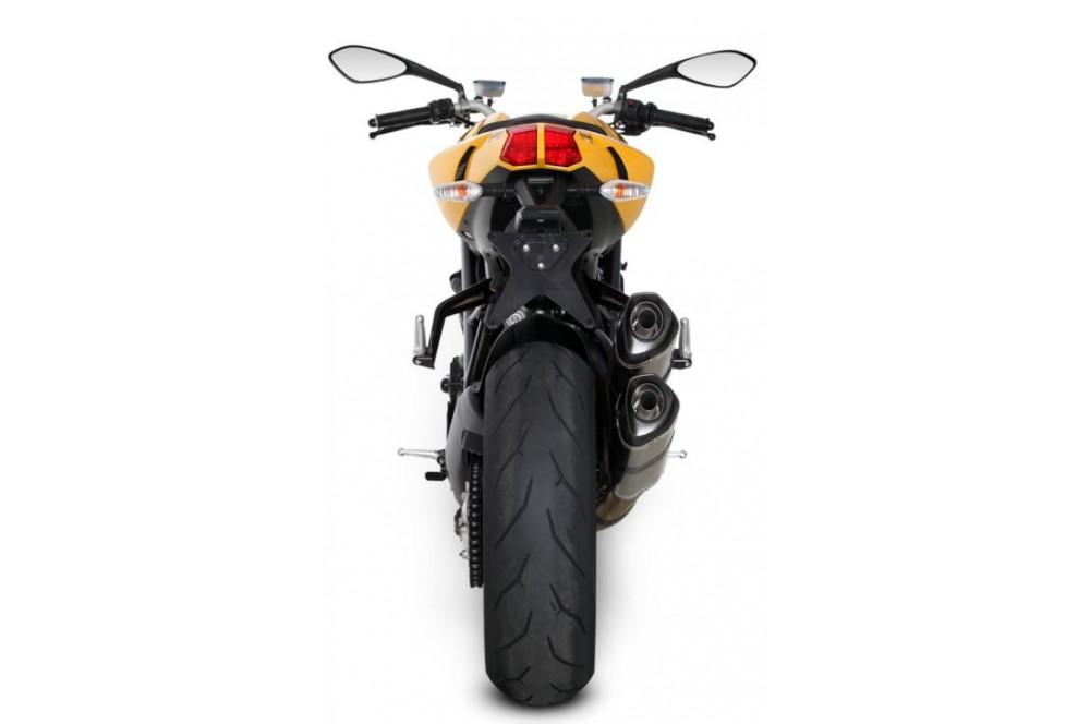 Silencieux Titane Akrapovic Homologué Ducati 848 Streetfighter / S 11/13