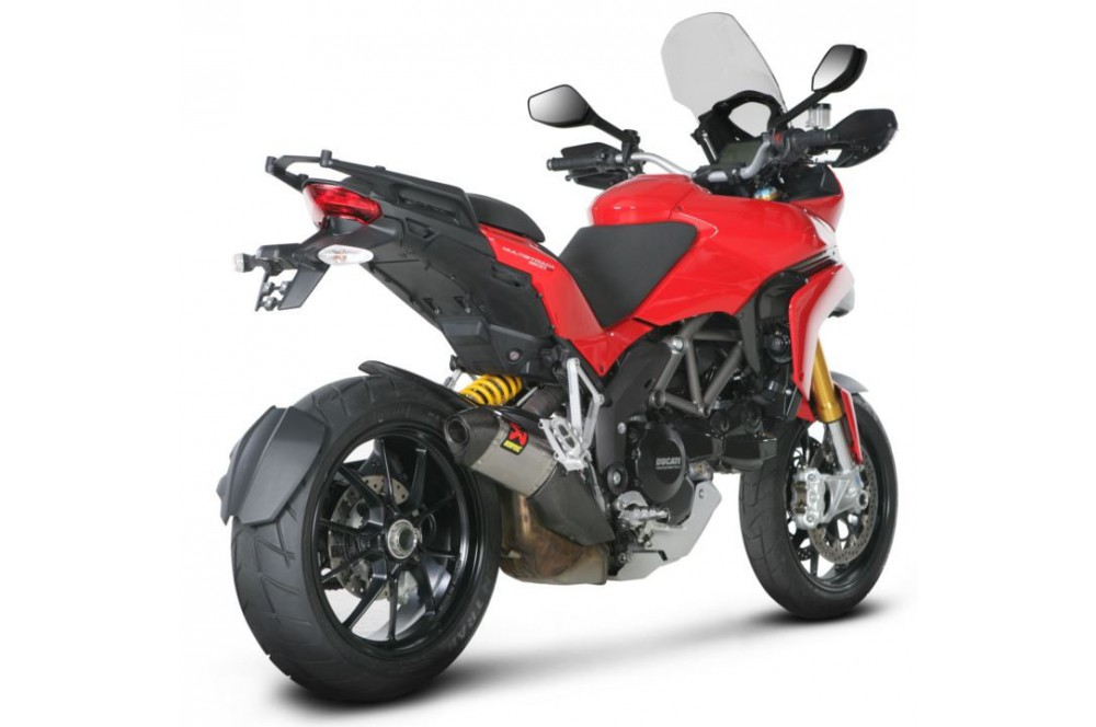 Silencieux Titane Akrapovic Homologué Ducati 1200 Multistrada 10/13