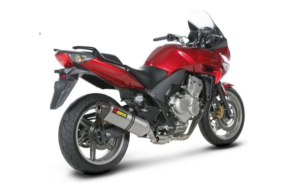 Silencieux Titane Akrapovic Homologué Honda CBF 600 08/13